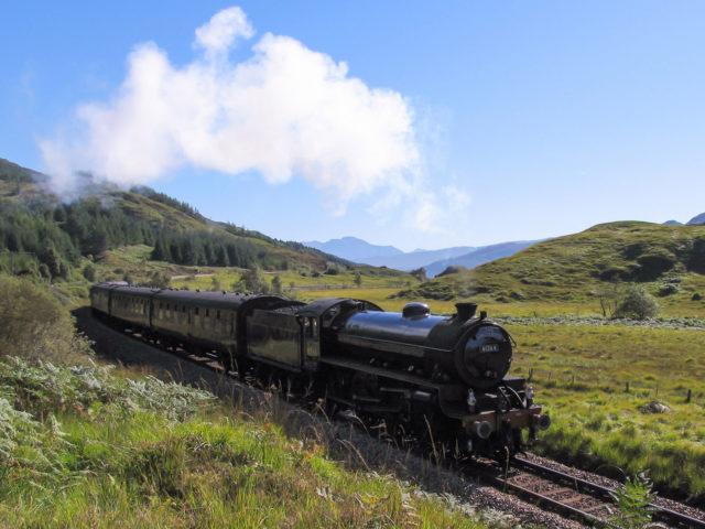Jacobite Steam Train - The 'Harry Potter' train.