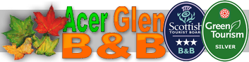 Acer Glen Logo for Bed and Breakfast in Inverness