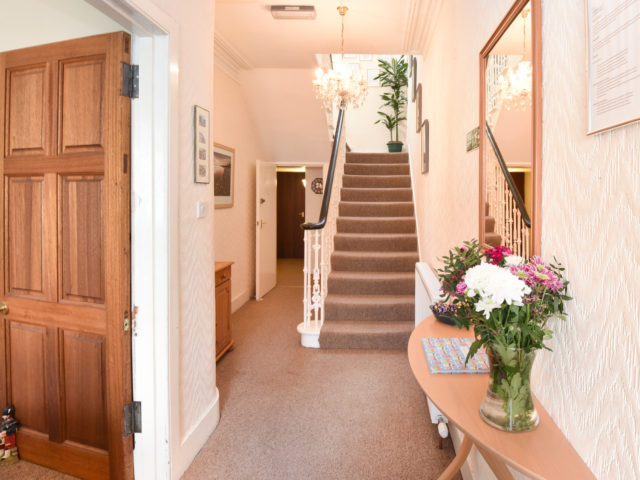 Front Hall at Acer Glen Bed and Breakfast in Inverness