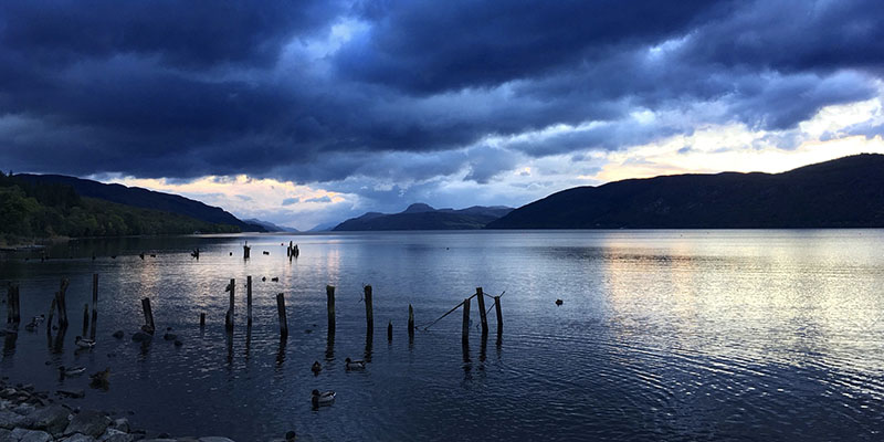 Loch Ness from Dores